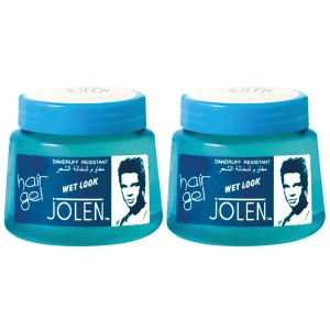 Buy Jolen Wet Look Hair Gel Twin Pack - Nykaa