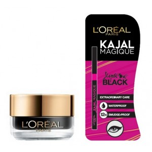 Buy L'Oreal Paris Super Liner Gel Intenza 36H - Profound Black + Free Kajal Magique - Nykaa
