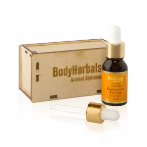 Buy BodyHerbals Ancinet Ayurveda Kumkumadi Thailam - Nykaa
