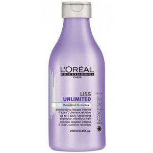 Buy L'Oreal Professionnel Liss Unlimited Shampoo 250 Ml - Nykaa