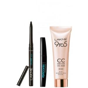 Buy Lakme Eyeconic + CC Cream (Bronze) + Eyeconic Curling Mascara - Nykaa