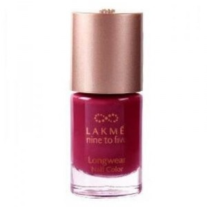 Buy Lakme 9 To 5 Long Wear Nail Color - Nykaa