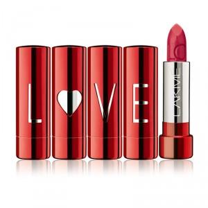 Buy Lakme Lip Love Lipstick - Strawberries Cream - Nykaa