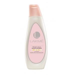 Buy Lakme Peach Milk Moisturiser SPF 24 Pa++ - Nykaa
