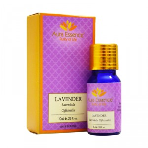 Buy Aura Essence Pure Lavender Essential Oil - Nykaa