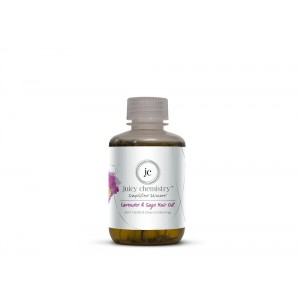 Buy Juicy Chemistry Lavender & Sage Hair Oil-110g (Hair Fall Control & Deep Conditioning)  - Nykaa