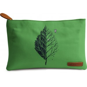 Buy DailyObjects Leaf Of Life Carry-All Pouch Medium - Nykaa