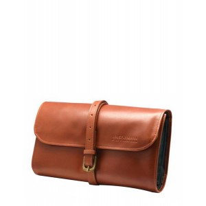 Buy Truefitt & Hill Leather Travel Roll-Up Wet Pack - Tan - Nykaa
