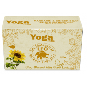 Buy Yoga India Pure Essential Oil Natural Body Sun Sign Soap - Leo - Nykaa