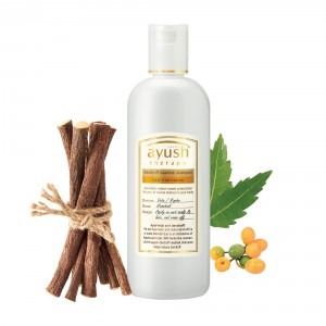 Buy Herbal Lever Ayush Dandruff Naashak Shampoo - Nykaa