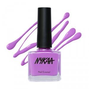 Buy Nykaa Floral Carnival Nail Enamel - Lilac Kisses 143 - Nykaa