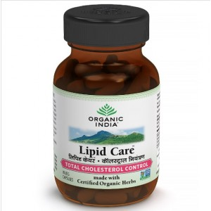Buy Organic India Lipid Care - Nykaa