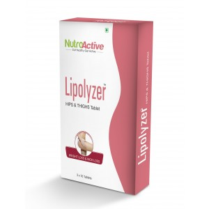Buy NutroActive Lipolyzer Hips & Thighs Tablet - Nykaa