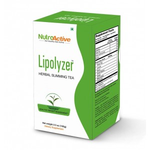 Buy NutroActive Lipolyzer Herbal Slimming Tea - Nykaa