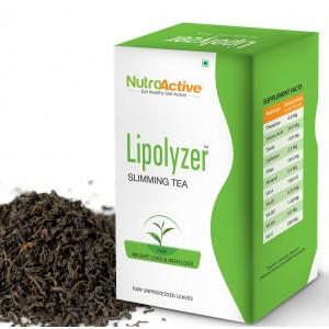 Buy NutroActive Lipolyzer Slimming Tea - Nykaa