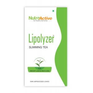Buy Herbal NutroActive Lipolyzer Slimming Tea - Nykaa