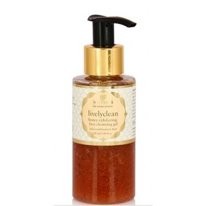 Buy Just Herbs Lively Clean Honey Exfoliating Face Cleansing Gel - Nykaa