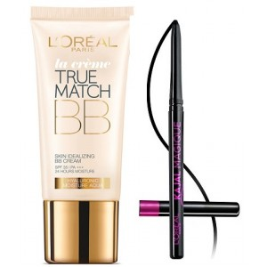 Buy L'Oreal Paris True Match BB Cream - Ivory + Free Kajal Magique - Nykaa