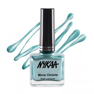 Buy Nykaa Mirror Chrome Nail Lacquer - Nykaa
