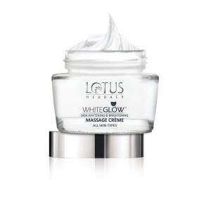 Buy Lotus Herbals Whiteglow Skin Whitening And Brightening Massage Cream - Nykaa