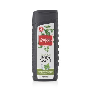 Buy Swiss Tempelle Energy Rush Body Wash For Men - Nykaa