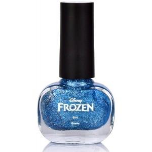 Buy Disney Frozen Ice Nail Polish - Blue Glitter - Nykaa