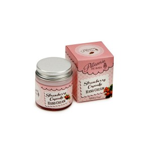 Buy Patisserie de Bain Strawberry Cupcake Hand Cream Jar  - Nykaa