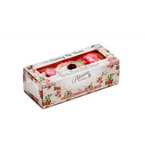 Buy Patisserie de Bain Coming Up Roses Bath Fancies - 3 Pieces - Nykaa