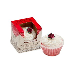 Buy Patisserie de Bain Cranberries & Cream Cupcake Soap  - Nykaa