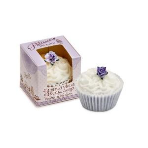 Buy Patisserie de Bain Sugared Violet Cupcake Soap  - Nykaa