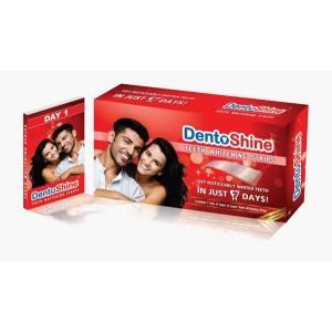 Buy DentoShine Teeth Whitening Strips  - Nykaa