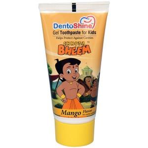 Buy DentoShine Chhota Bheem Gel Toothpaste For Kids - Mango - Nykaa