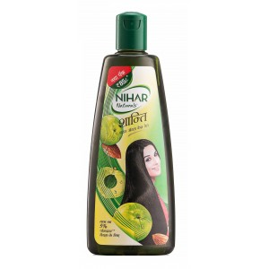 Buy Nihar Shanti Amla Hair Oil  - Nykaa