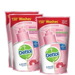 Buy Dettol Skincare Liquid Handwash 175 ml (Buy 2 Get 1 Free)(Off Rs.49) - Nykaa