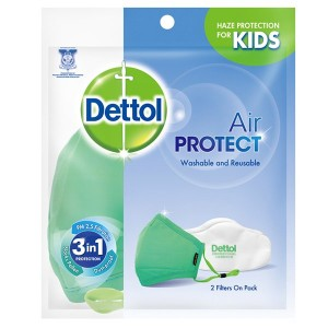 Buy Dettol Kids Washable Air Protect Mask - Nykaa