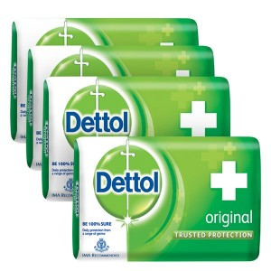 Buy Dettol Original Soap (Buy 3 Get 1 Free)(Off Rs.31) - Nykaa