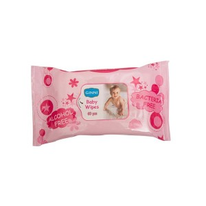 Buy Ginni Baby Wipes - 60 Pieces - Nykaa