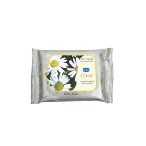 Buy Ginni Clea Cleansing & Makeup Remover Wet Wipes - Chamomile (10 Wipes) - Nykaa