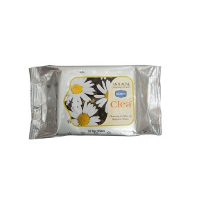 Buy Ginni Clea Cleansing & Makeup Remover Wet Wipes - Chamomile (30 Wipes) - Nykaa