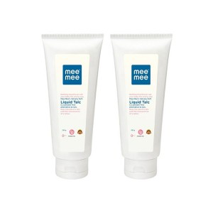Buy Mee Mee Smooth Liquid Talc (Pack of 2) White - Nykaa