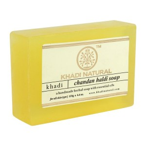 Buy Khadi Natural Chandan Haldi Soap - Nykaa