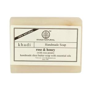 Buy Khadi Natural Rose Honey With Rose Petals - Nykaa