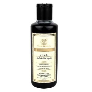 Buy Khadi Natural Amla & Bhringraj Hair Cleanser (For All hair types) - Nykaa