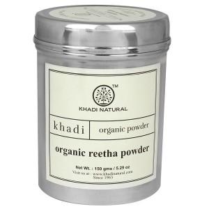 Buy Khadi Natural Organic Reetha Powder - Nykaa