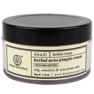 Buy Khadi Natural Acne Pimple Cream - Nykaa