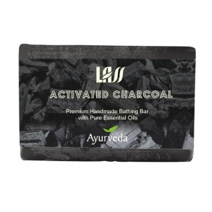 Buy Lass Naturals Activated Charcoal Soap - Nykaa
