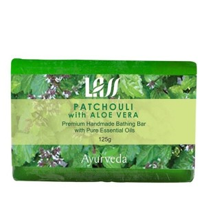 Buy Lass Naturals Patchouli With Aloe Vera Soap - Nykaa