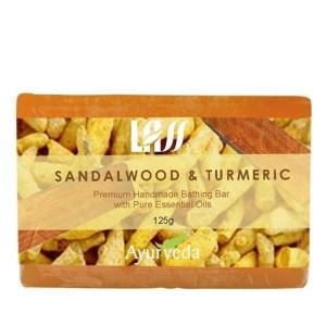 Buy Lass Naturals Sandalwood & Turmeric Soap - Nykaa