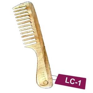Buy Lass Naturals Neem Wood Comb (LC-1) - Nykaa
