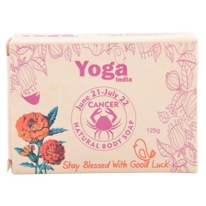 Buy Yoga India Pure Essential Oil Natural Body Sun Sign Soap - Cancer - Nykaa